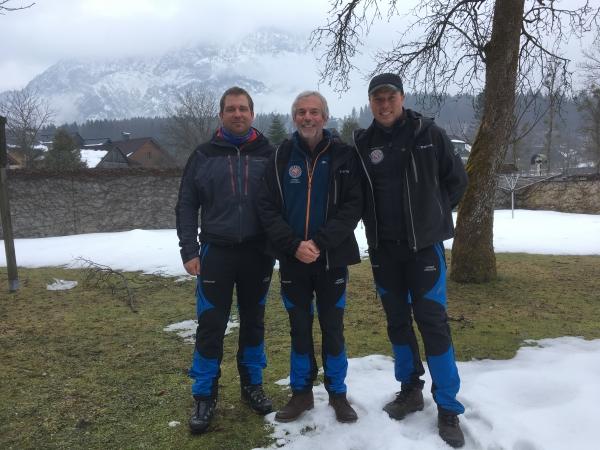 Karel Bubník, Bill Bailey a Michal Lollok I2018– Rakousko